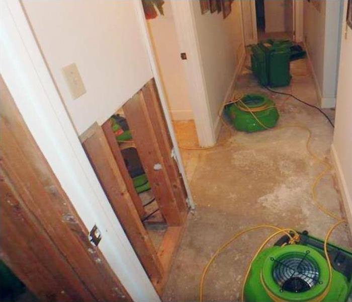 Water Damage Repair In Lafayette Before