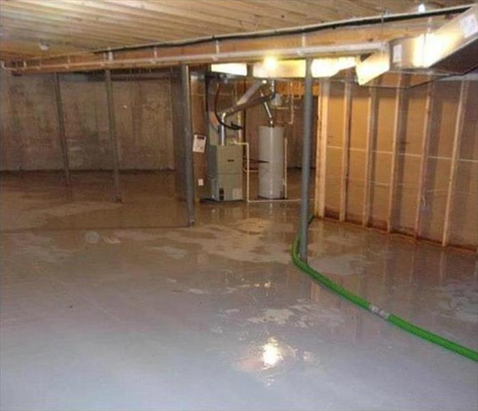 Lafayette Water Damage to a Commercial Structure Before