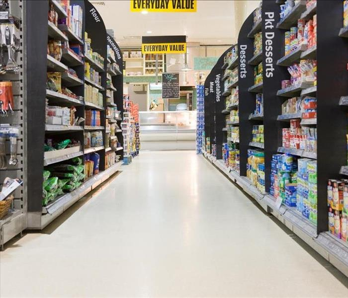 Water Damage Commercial Water Damage in Lafayette Area Grocery Stores